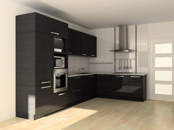 Угловая кухня №6