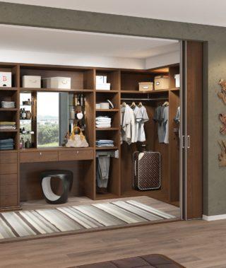 Гардеробный шкаф №2